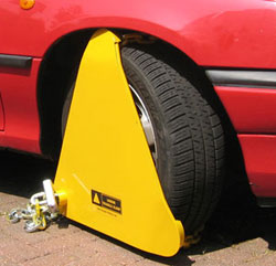 london triangle wheel clamp Challenge rogue wheel clampers with independent tribunals!